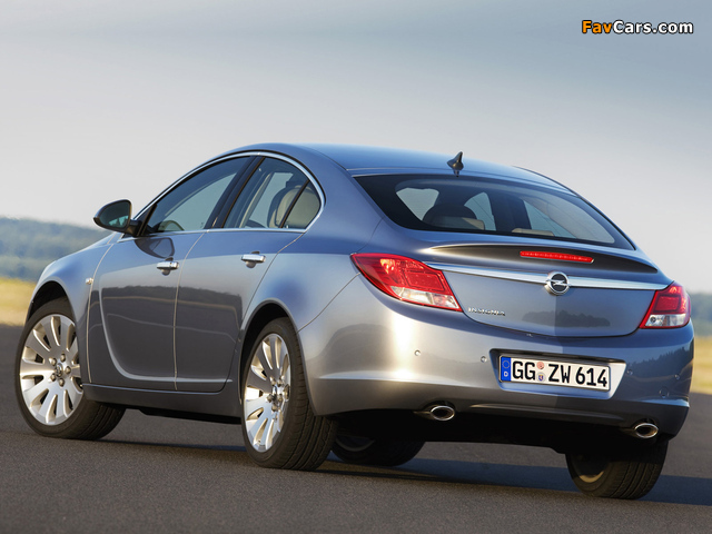 Pictures of Opel Insignia Hatchback 2008 (640 x 480)