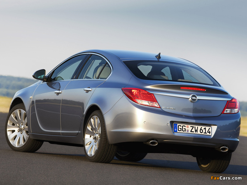 Pictures of Opel Insignia Hatchback 2008 (800 x 600)