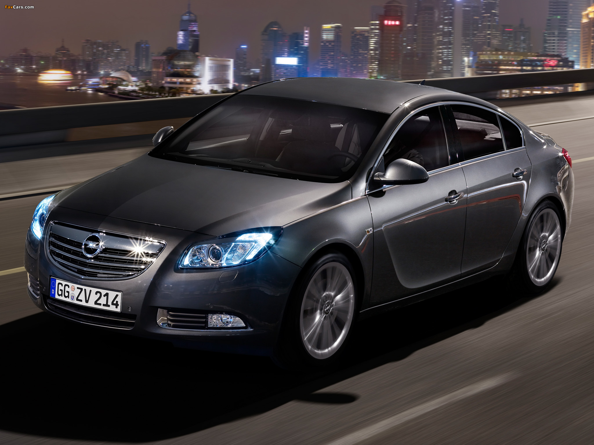 Pictures of Opel Insignia Hatchback 2008 (2048 x 1536)