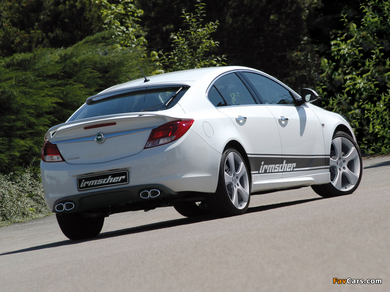 Pictures of Irmscher Opel Insignia 2008 (800 x 600)