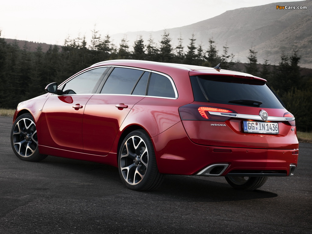 Pictures of Opel Insignia OPC Sports Tourer 2013 (1024 x 768)