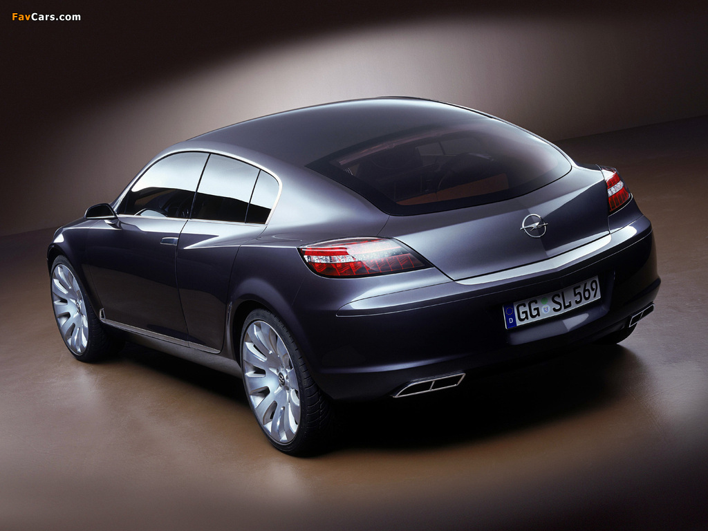Opel Insignia Concept 2003 wallpapers (1024 x 768)