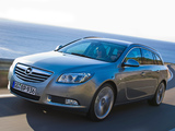 Opel Insignia Sports Tourer 2008–13 wallpapers