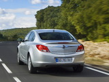 Opel Insignia ecoFLEX 2009–13 wallpapers