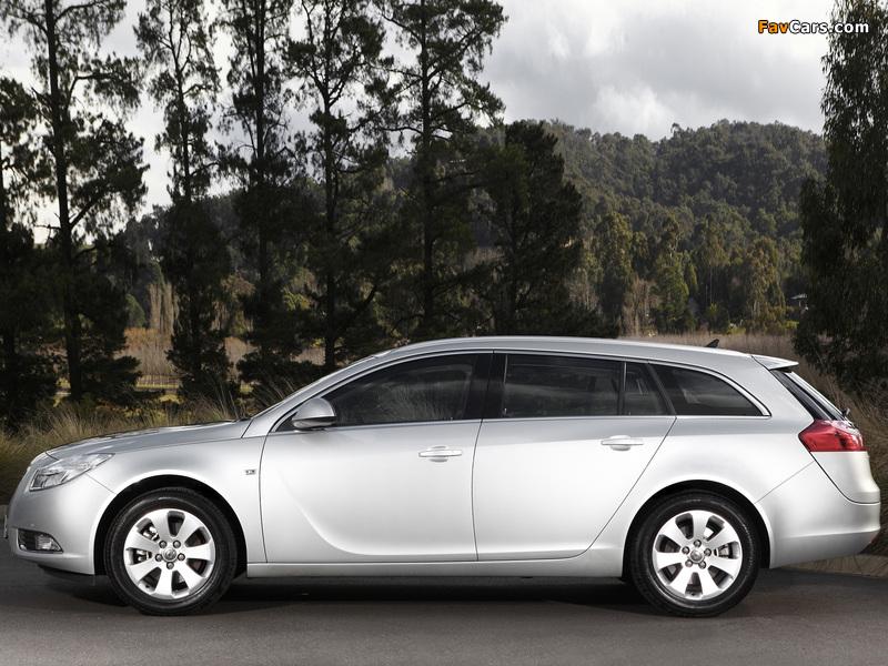 Opel Insignia Sports Tourer AU-spec 2012–13 wallpapers (800 x 600)