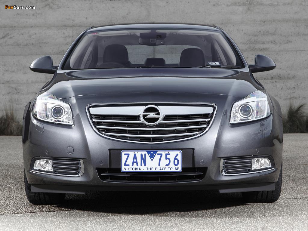 Opel Insignia Turbo AU-spec 2012–13 wallpapers (1024 x 768)