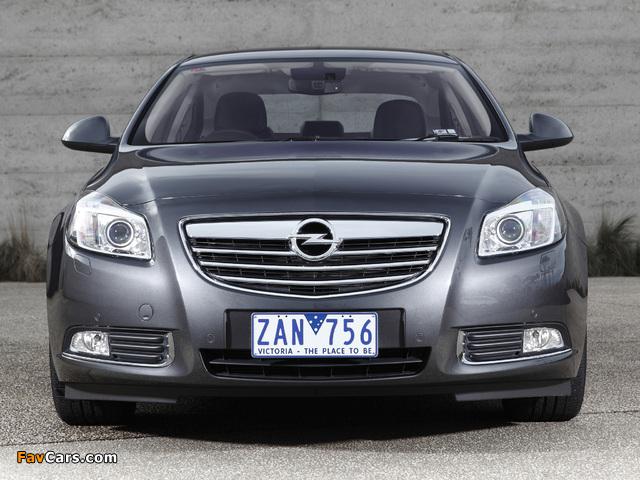 Opel Insignia Turbo AU-spec 2012–13 wallpapers (640 x 480)