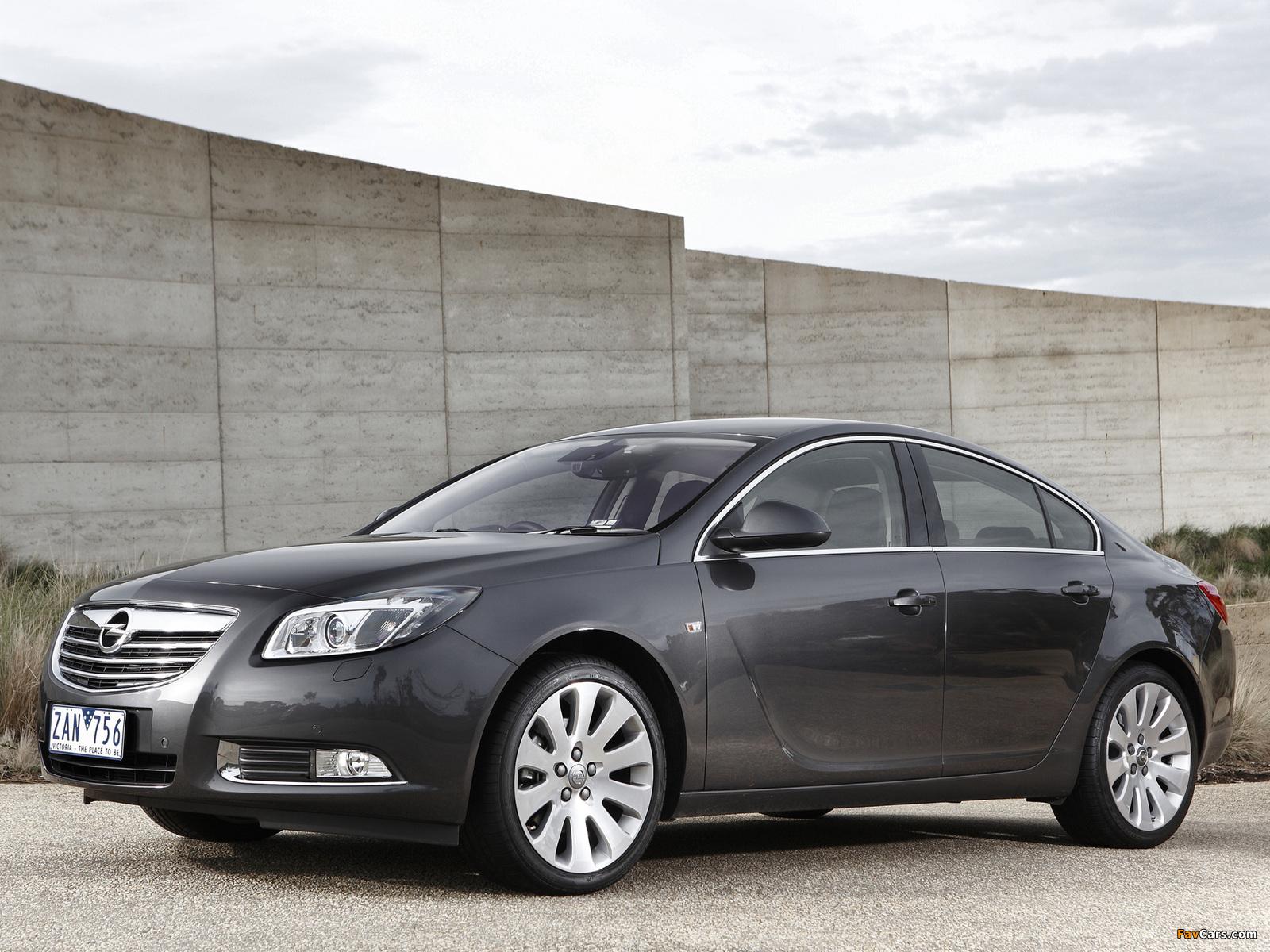 Opel Insignia Turbo AU-spec 2012–13 wallpapers (1600 x 1200)