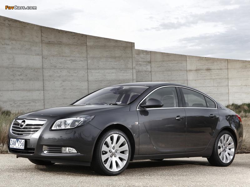 Opel Insignia Turbo AU-spec 2012–13 wallpapers (800 x 600)