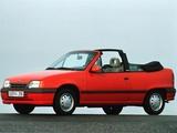 Images of Opel Kadett Cabrio (E) 1989–93