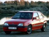 Images of Opel Kadett Frisco 3-door (E) 1991
