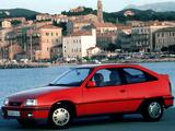 Opel Kadett GSi (E) 1984–91 photos