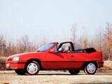 Opel Kadett GSi Cabrio (E) 1986–90 images