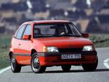 Opel Kadett GT 3-door (E) 1989–91 pictures