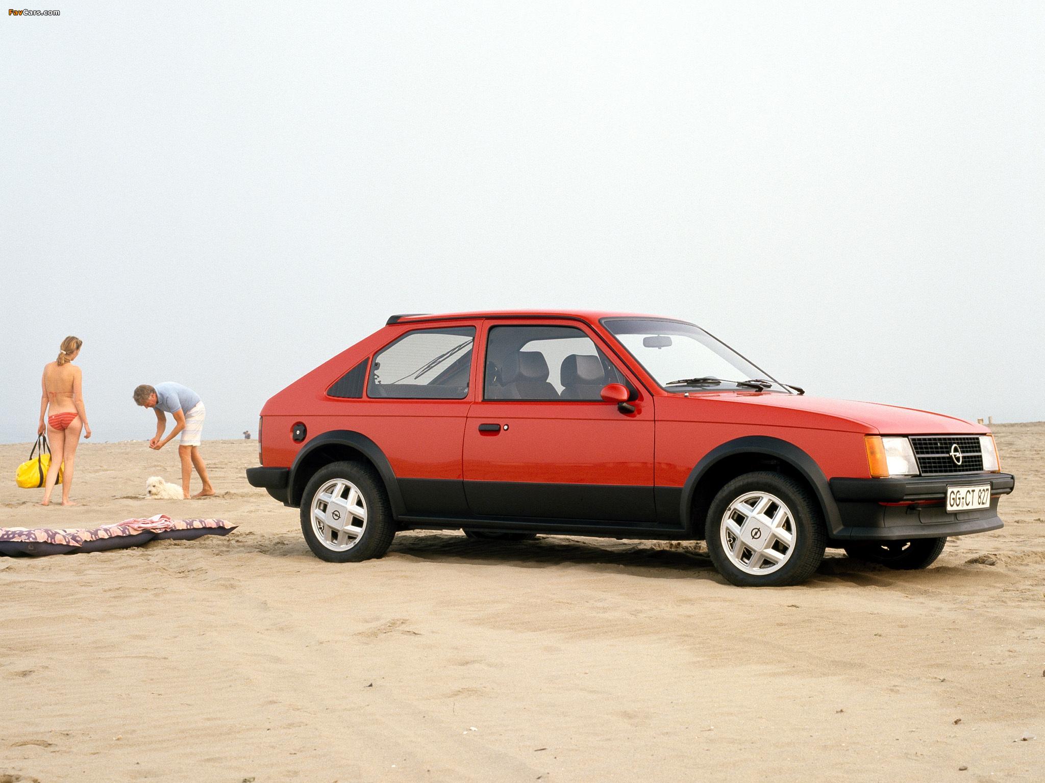 Photos Of Opel Kadett Sr 3 Door D 1979 84 2048x1536