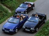 Photos of Opel Kadett Cabrio (E) 1989–93