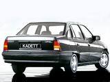 Pictures of Opel Kadett Sedan (E) 1984–89
