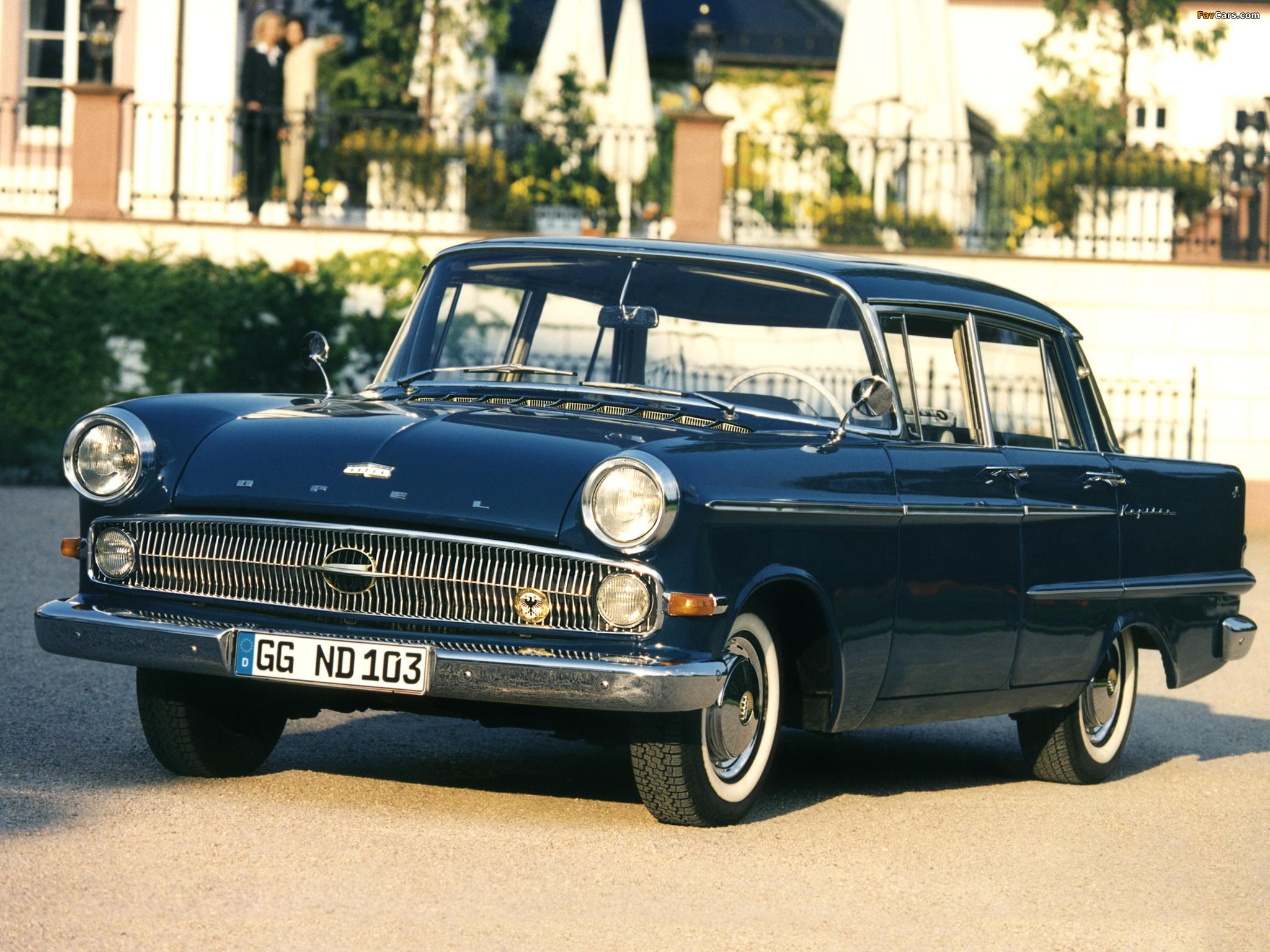 Opel Kapitan P2 1959 64 Wallpapers 2048x1536