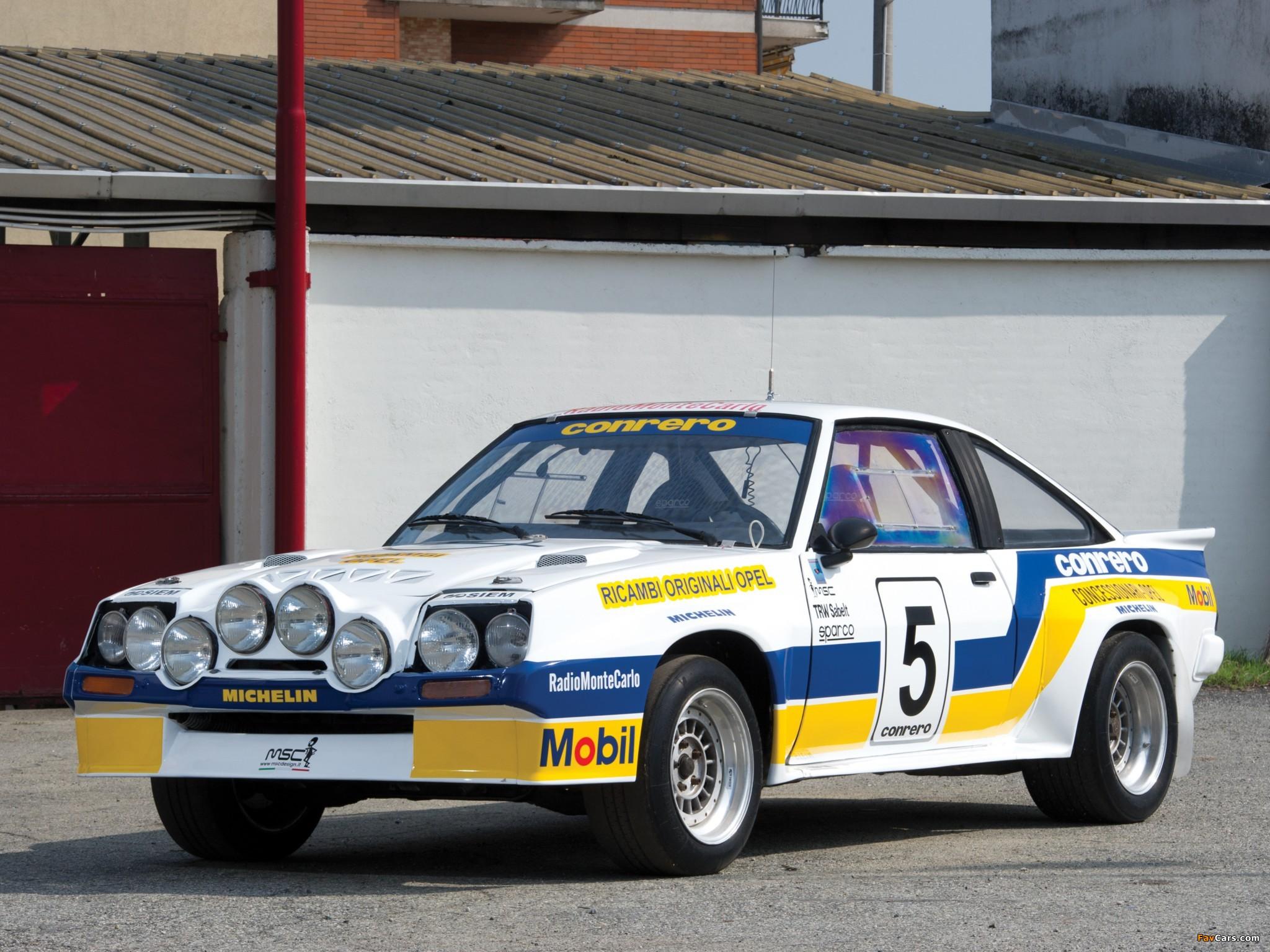 Images of Opel Manta 400 Rally Car 1981–84 (2048 x 1536)