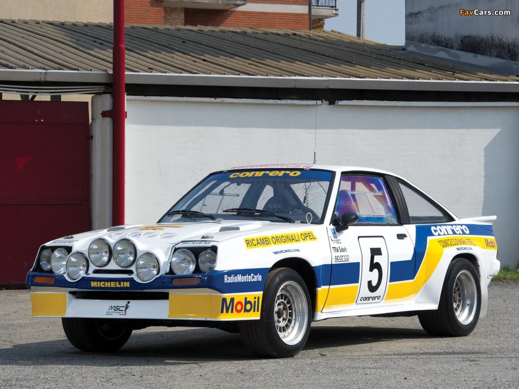 Images of Opel Manta 400 Rally Car 1981–84 (1024 x 768)
