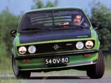 Opel Manta GT/E (A) 1974–75 photos