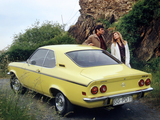 Pictures of Opel Manta (A) 1970–75