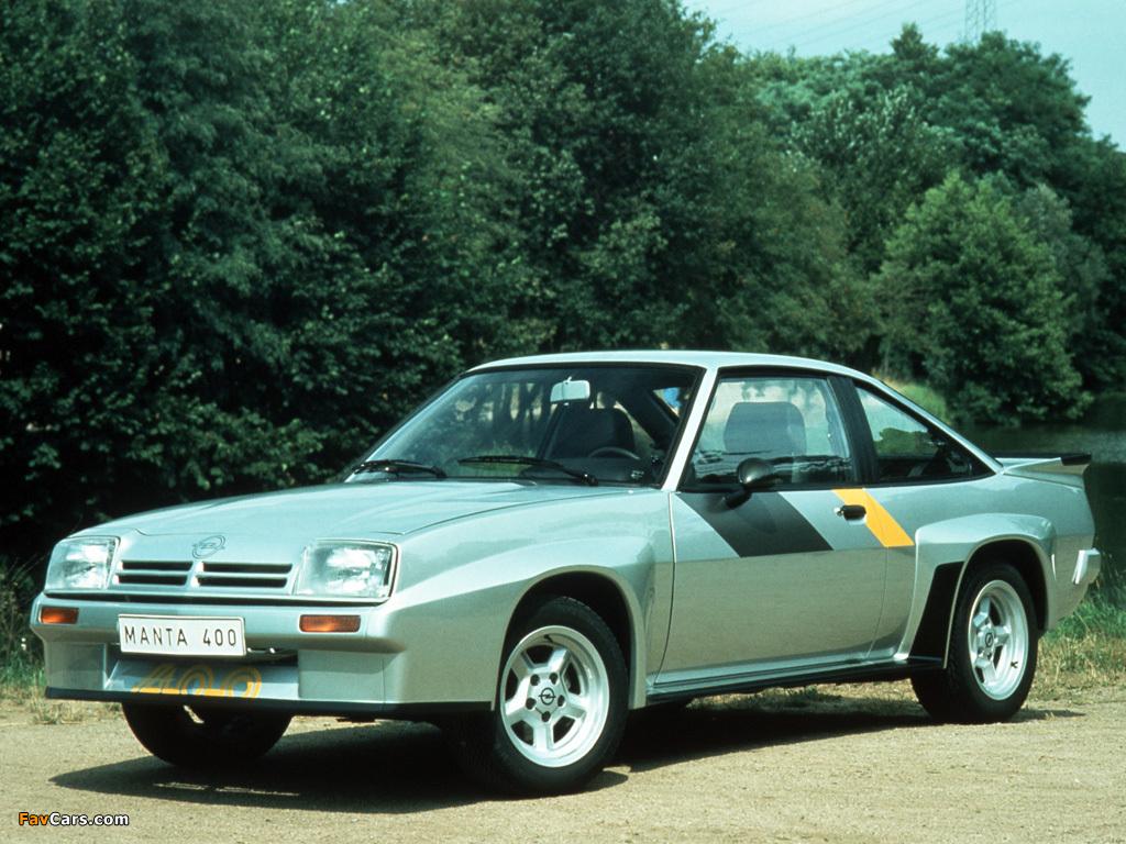 Opel Manta B >> Opel Manta 400 (B) 1981–84 wallpapers (1024x768)