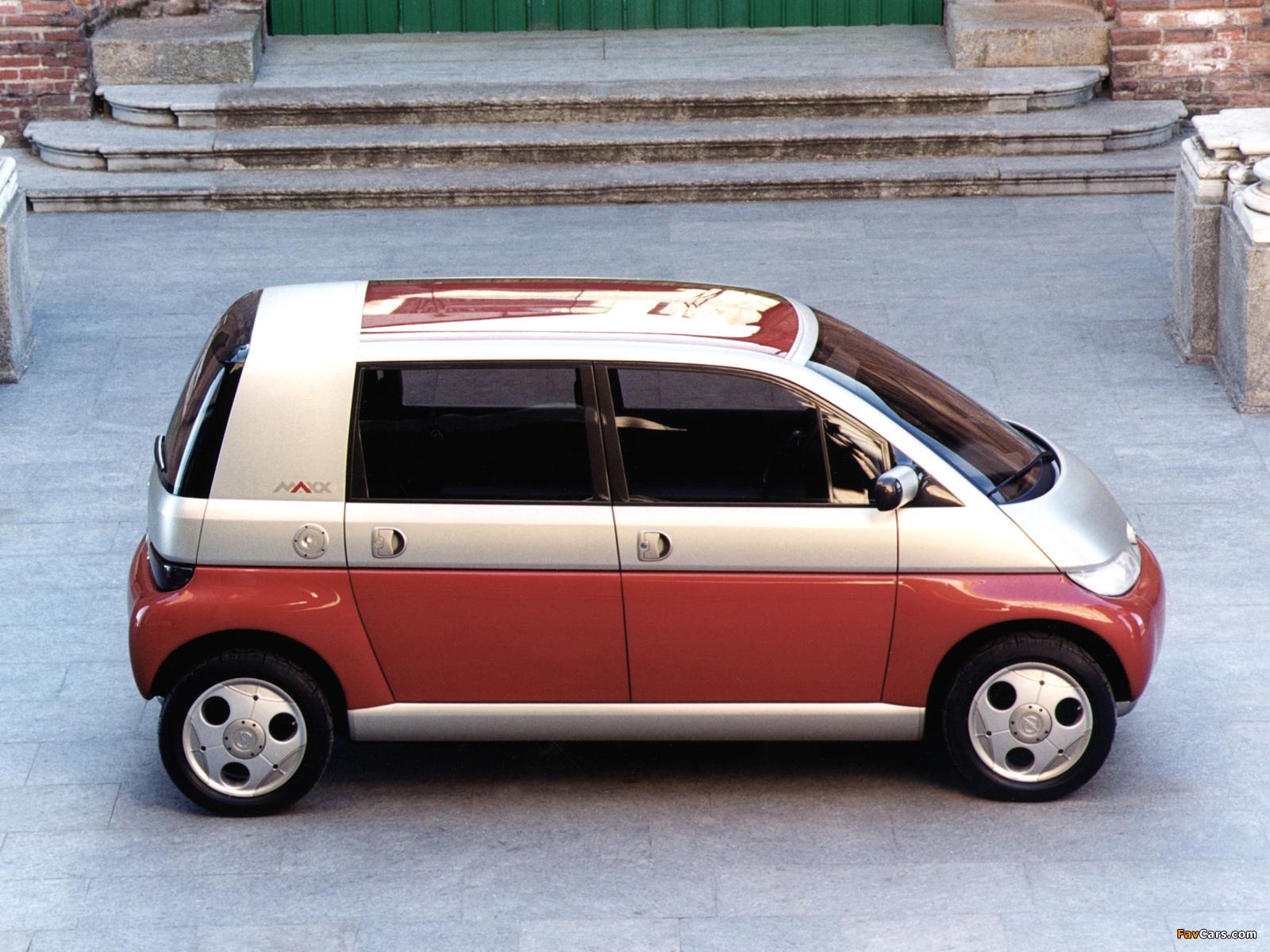 Opel Maxx 5-door Concept 1995 photos (1600 x 1200)
