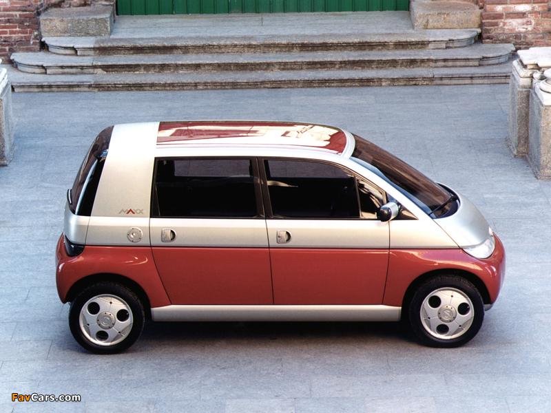 Opel Maxx 5-door Concept 1995 photos (800 x 600)