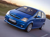 Opel Meriva OPC (A) 2006–10 images