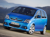 Opel Meriva OPC (A) 2006–10 pictures