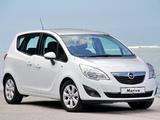 Opel Meriva Turbo ZA-spec (B) 2012 photos