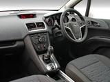 Photos of Opel Meriva Turbo ZA-spec (B) 2012