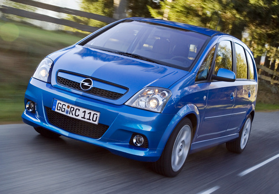 Pictures Of Opel Meriva Opc A 200610