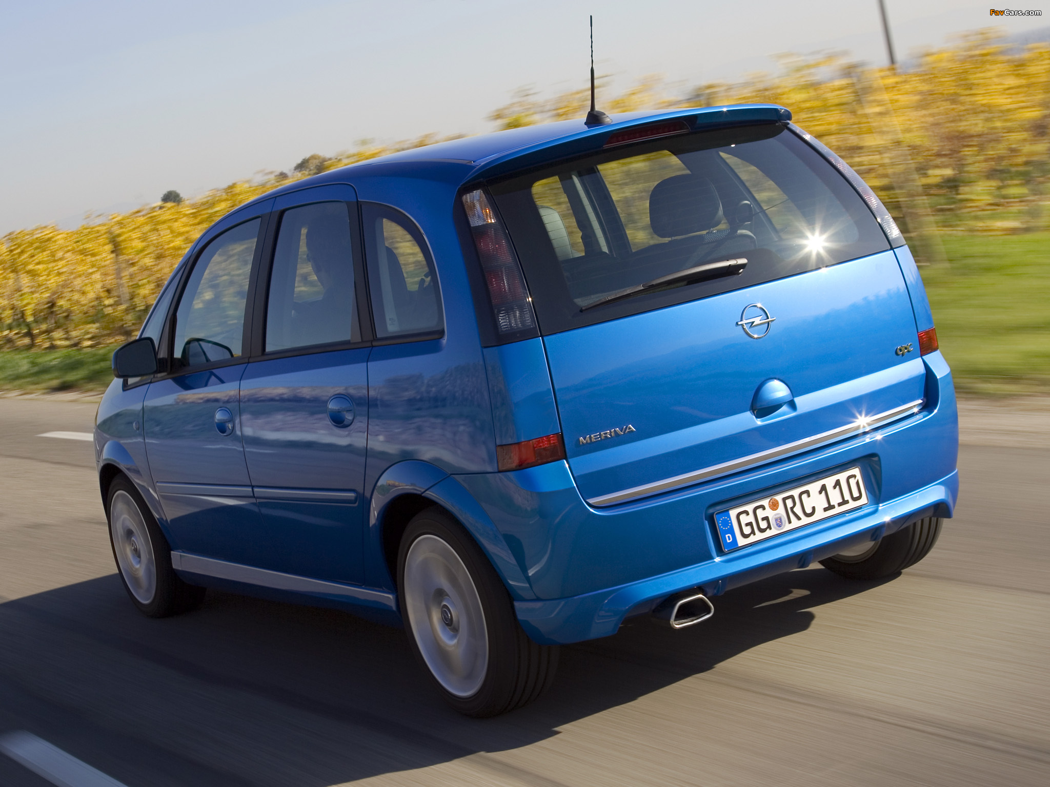 Pictures Of Opel Meriva Opc A 2006 10 2048x1536
