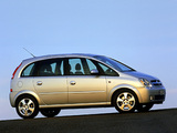 Opel Meriva (A) 2003–06 wallpapers