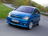 Opel Meriva OPC (A) 2006–10 wallpapers