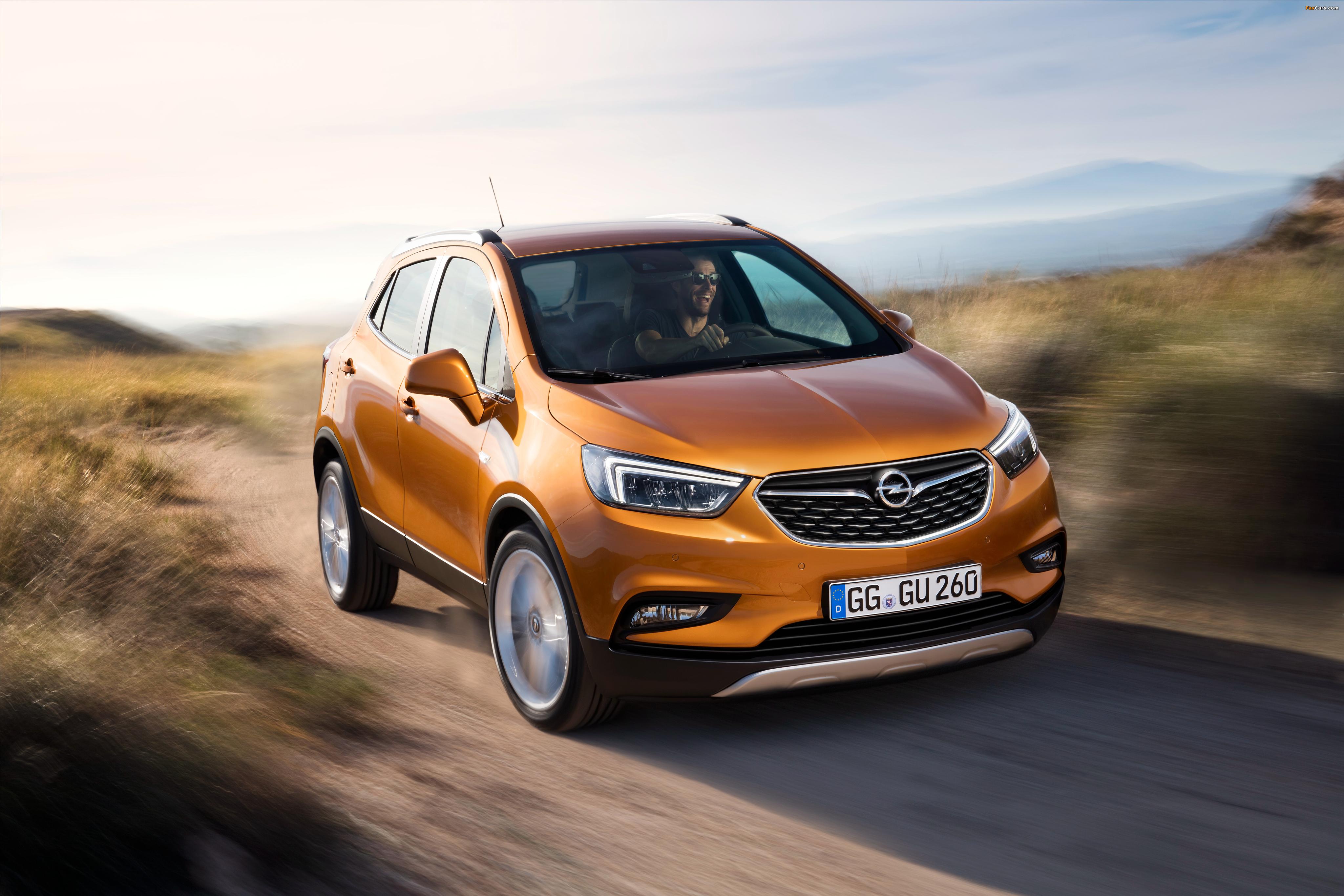 Opel Mokka X 2016 Wallpapers 4096x2731