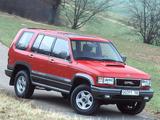 Opel Monterey 5-door 1992–98 photos