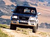 Opel Monterey 5-door 1998–99 pictures