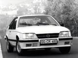 Photos of Opel Monza (A2) 1982–86