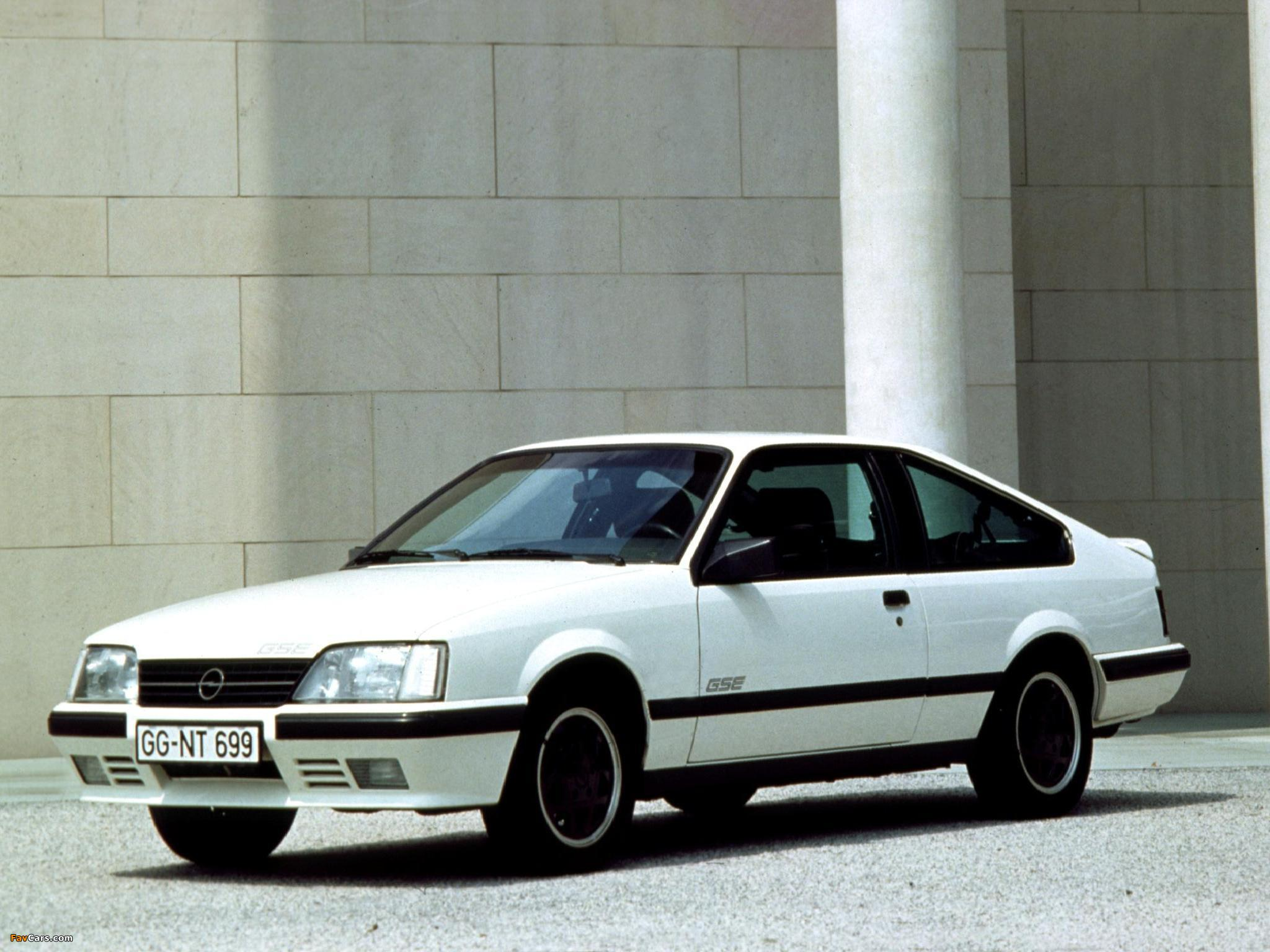 pictures of opel monza gse a2 1983 86 2048x1536. Black Bedroom Furniture Sets. Home Design Ideas