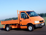 Opel Movano Pickup 1998–2003 images