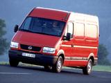 Opel Movano Van 1998–2003 images