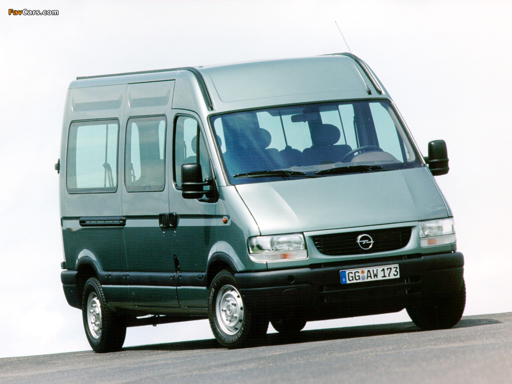 Opel Movano 1998–2003 pictures (1024 x 768)