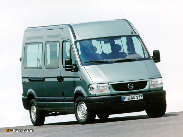Opel Movano 1998–2003 pictures (640 x 480)