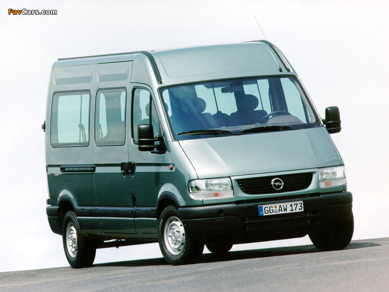 Opel Movano 1998–2003 pictures (800 x 600)