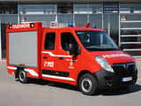 Opel Movano Double Cab Feuerwehr 2010 pictures