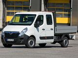 Opel Movano Double Cab Pickup 2012 photos