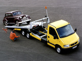 Photos of Opel Movano Pickup 1998–2003